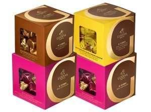 Godiva Chocolatier Assorted Chocolate Truffles Cube Favors Gift Box