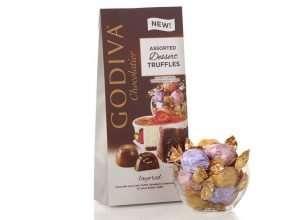 Godiva Chocolatier Assorted Chocolate Truffles Gift Box