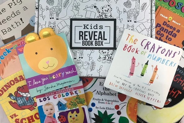 Kids Reveal Book Box last minutes gifts for kids