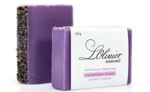 Lavender Soap Bar with Shea Butter