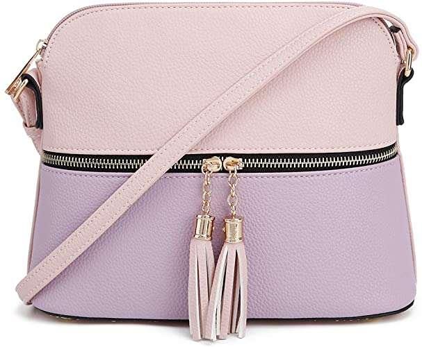 Lunar Crossbody Bag Shoulder Bag with Tassel last minute gift for her