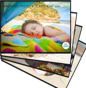 M.Memo Premium Super Slim Magnetic Picture Frames