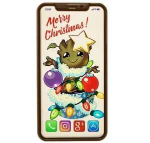Merry Christmas Chocolate iPhone