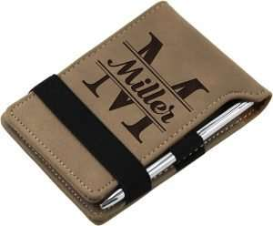 Monogrammed Notepad with Pen