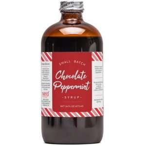 Natural Chocolate Peppermint Syrup