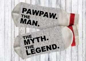 Personalized Pawpaw Socks