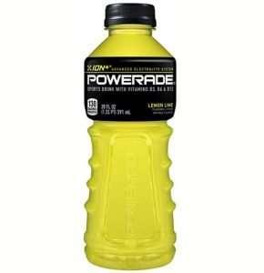 Powerade Electrolyte Enhanced Sports Drinks