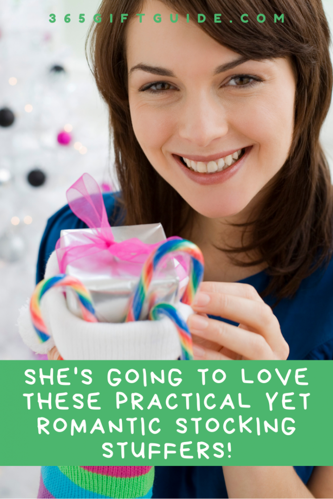 Practical yet romantic stocking stuffer gifts for my girlfriend
