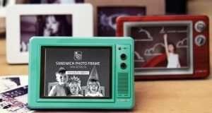 Retro Television Photo Frames
