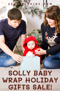 Solly Baby wrap Holiday Gifts Sale for a Limited Period