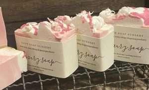 Strawberry Shortcake Soap