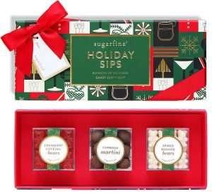 Sugarfina Holiday Sips Candy Bento Box