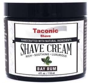 Taconic Shave Bay Rum Shaving Cream