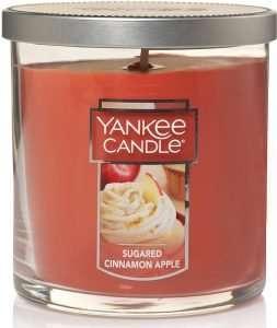 Yankee Candle Sugared Cinnamon Apple Tumbler Candle