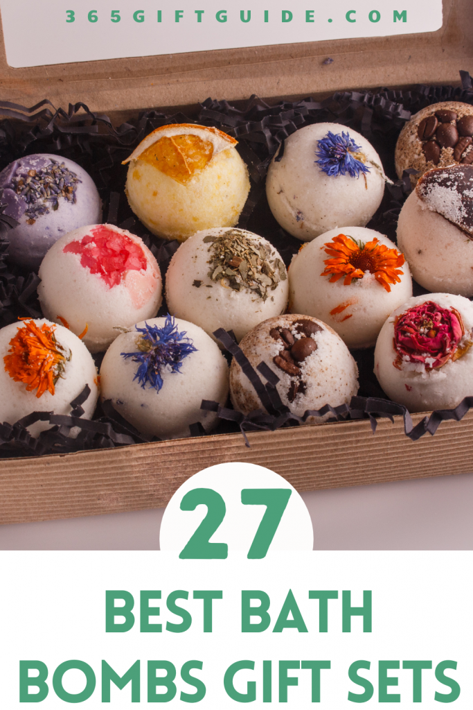 27 Best Bath Bombs Gift Sets