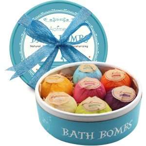 Aofmee Bath Bombs Gift Set, 7 Pc