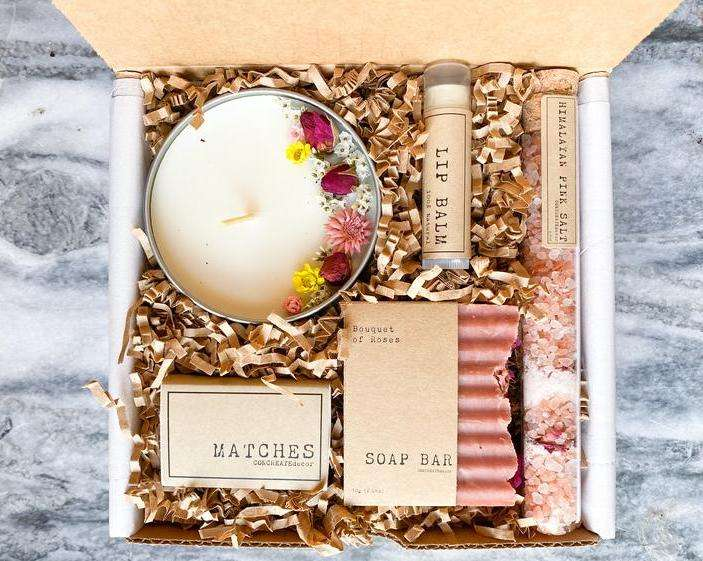 Bath & Beauty Box Spa Gift Box