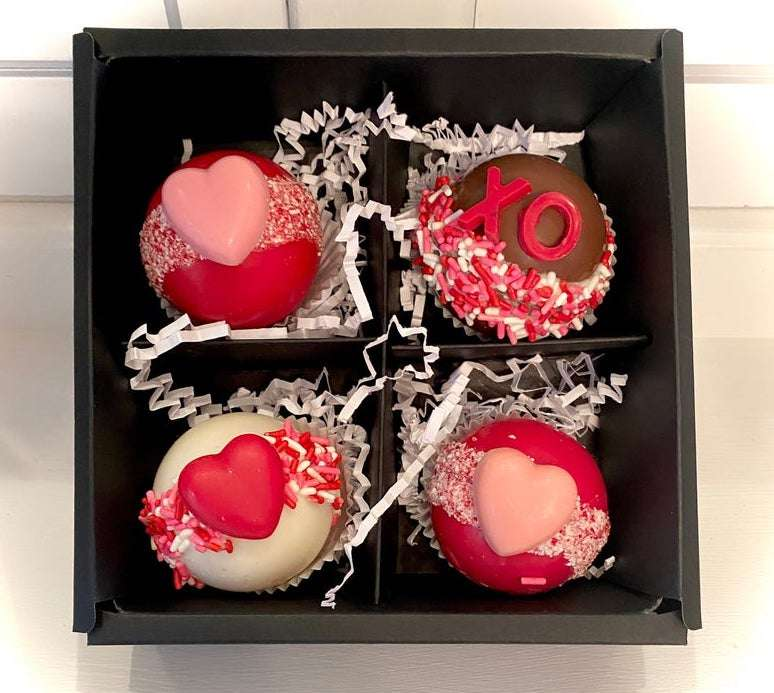 Be Mine Valentine's Hot Chocolate Bombs