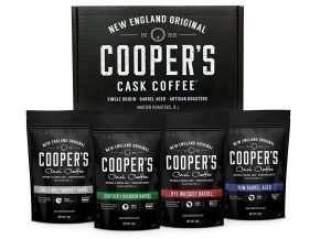 Bourbon & Whiskey Barrel Aged Coffee