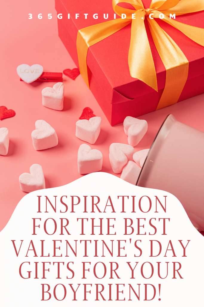 Can't decide what to get your man for valentine's day? Here's some great inspiration