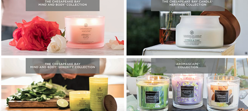 Chesapeake Bay Candle Collection