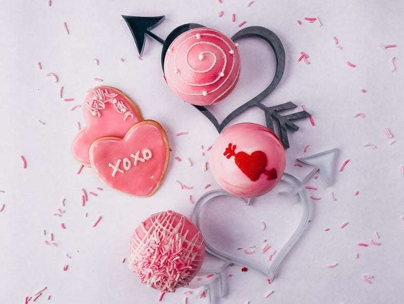 Cupid Valentine Hot cocoa bombs pack