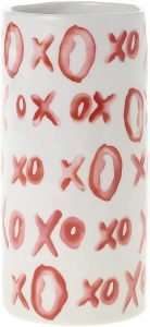 Decorative XO Ceramic Vase