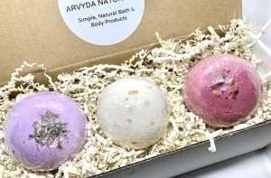Hemp Bath Bomb Gift Set