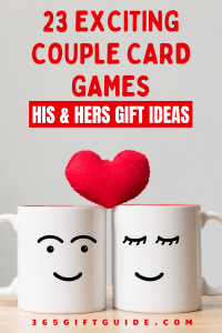His and Hers Gift Ideas - 23 Exciting Couple Card Games