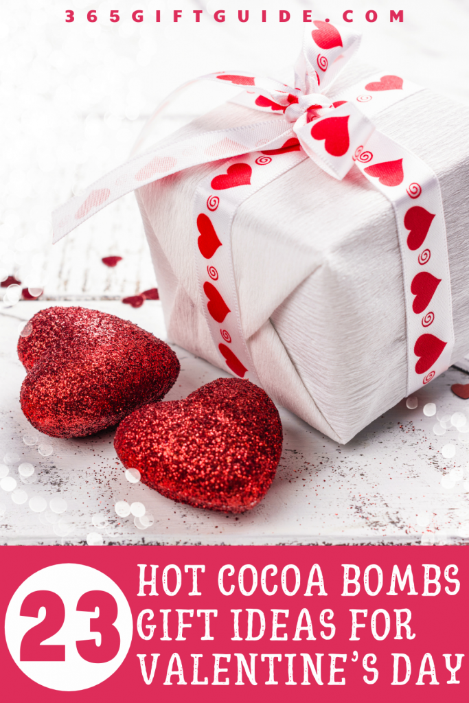 Hot Cocoa Bombs Gift Ideas for Valentine's Day