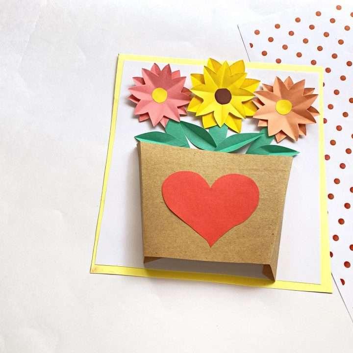 How to Make Paper Flower Vase Final