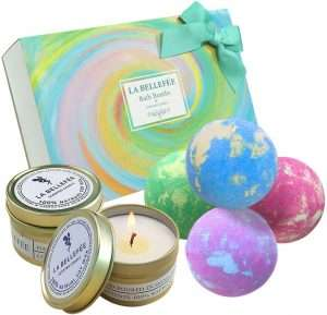 LA BELLEFÉE Bath Bombs Gift Set