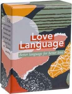 Love Language Couple Card Game