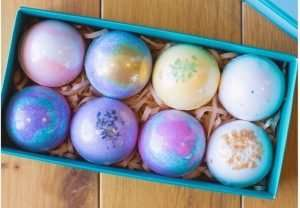 Luxury Vegan Bath Bombs Gift Set