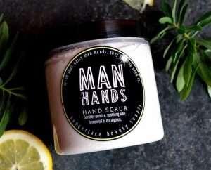 Man Hand Scrub