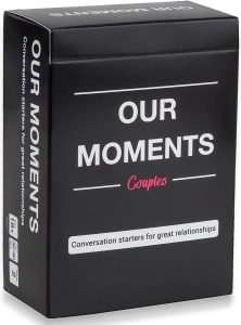 Our Moments Couple Card Game