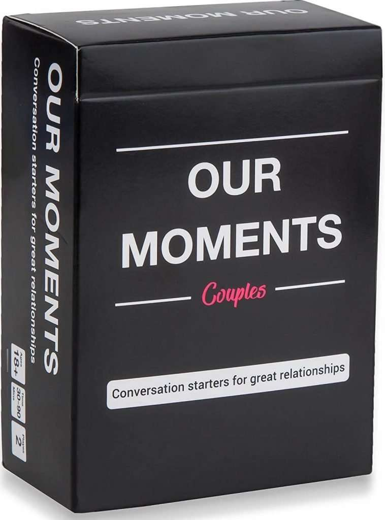 Our Moments Couples- Conversation Card Game for Couples