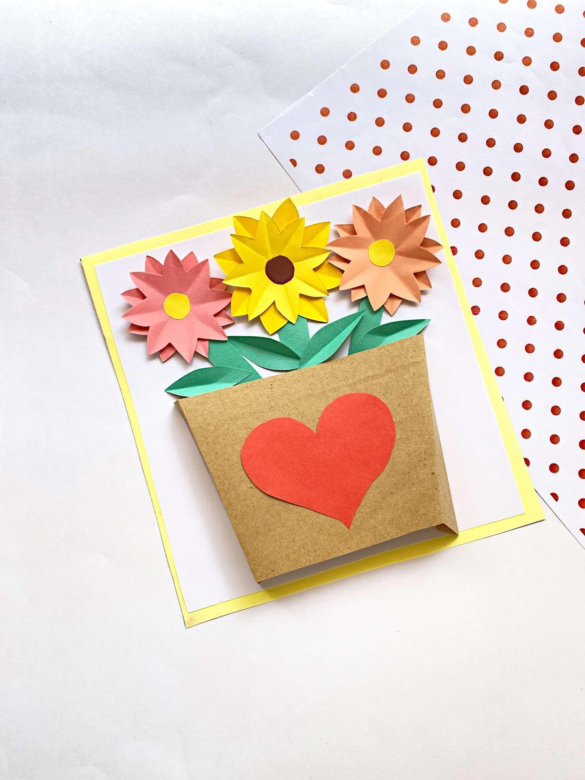 Paper Flower Vase Final