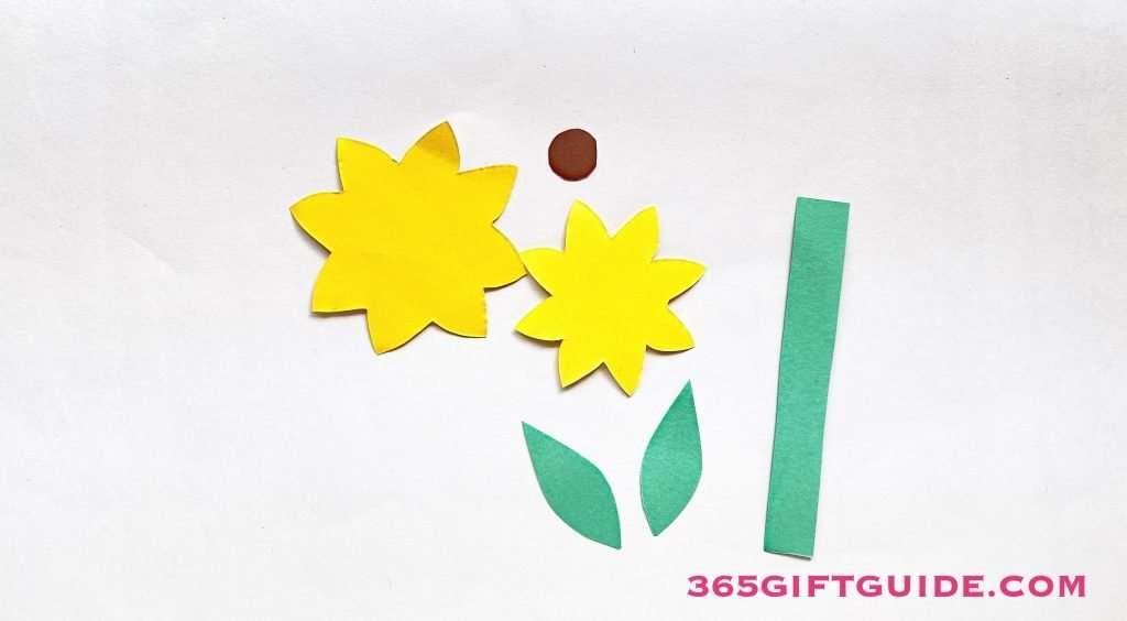 Paper Flower Vase Step 1