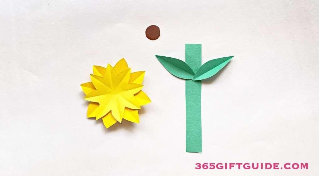 Paper Flower Vase Step 3