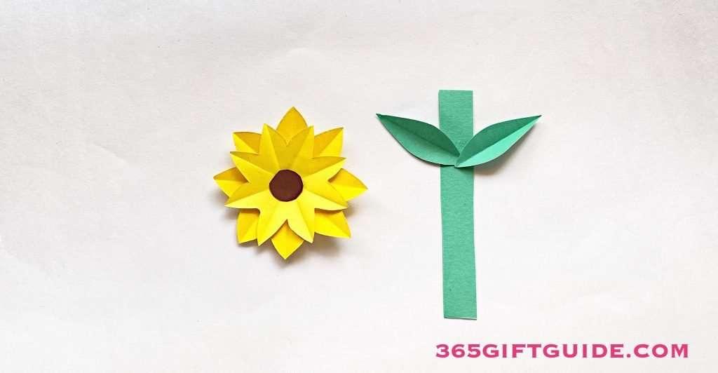 Paper Flower Vase Step 4