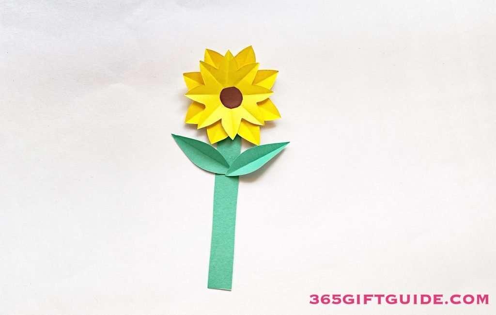 Paper Flower Vase Step 5