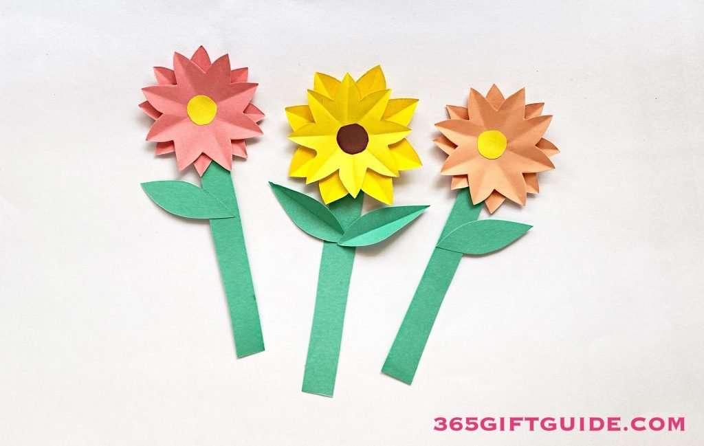 Paper Flower Vase Step 6