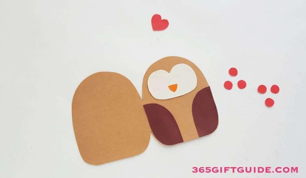Paper Owl Craft Step 3