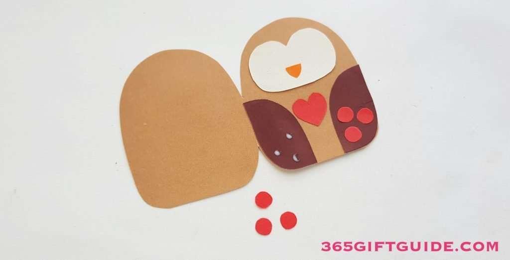 Paper Owl Craft Step 4