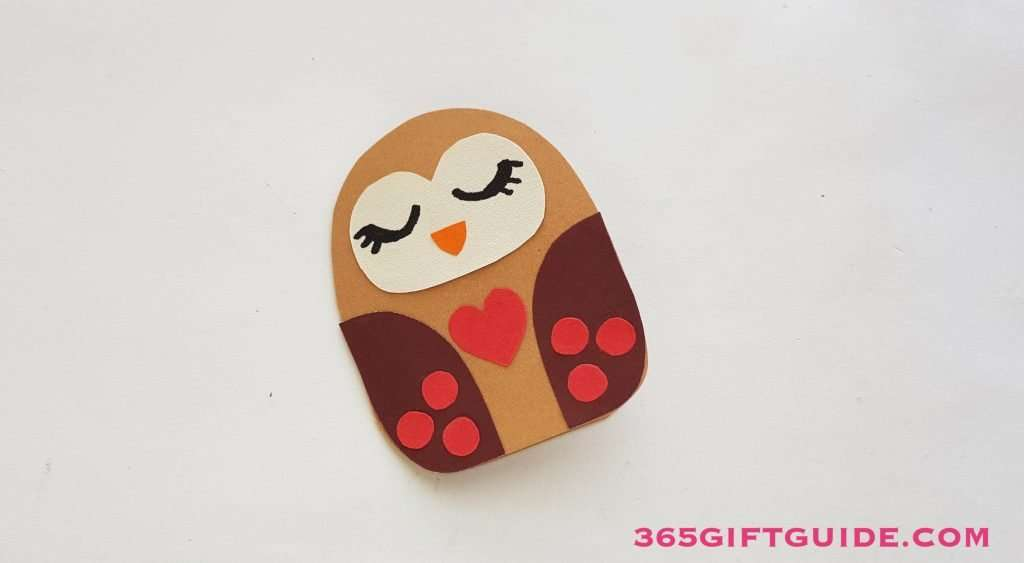 Paper Owl Craft Step 6