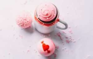 Personalized Valentine Hot Cocoa Bomb Set
