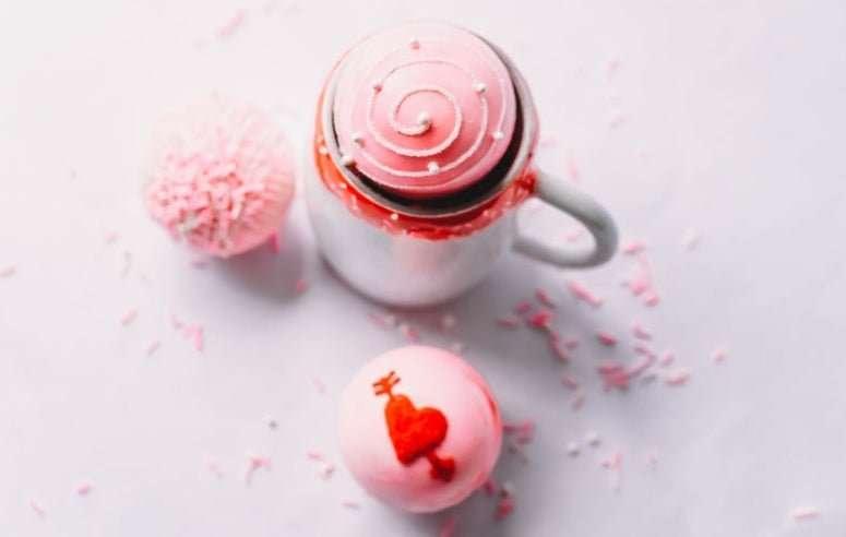 Personalized Valentine Hot Cocoa Bomb Set