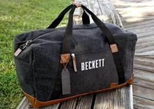 Personalized Weekend Duffel Bag