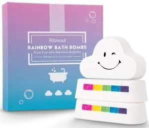 Rainbow Bath Bombs Gift Set